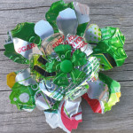 Recycled Can 7up Flower